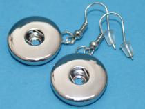 Ohrhänger für Druckknopf, 1 Paar