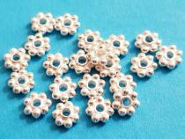 Blume, Daisy ca. 5 mm, 925/- Silber
