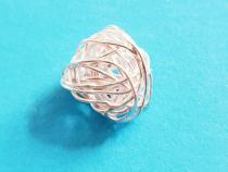 Knäuel, ca.  10 mm, 925/- Silber