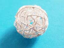 Knäuel, ca. 19 -20 mm, 925/- Silber