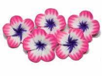 Frangipani Blüte pink-weiss-lila, 5 Stück