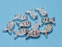 Fisch, ca. 11,5 x 7 mm, 10 Stück