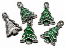 Tannenbaum, Weihnachtsbaum grün, 5 Stück