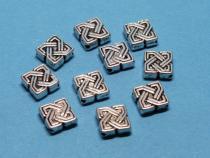 Keltischer Knoten, ca. 7 mm, 10 Stück