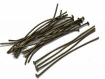 Nietstifte, bronzefarben, 45/07 mm, 100 Stück