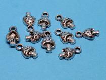 Pilz, Fliegenpilz, ca. 8 x 13 mm, 15 Stück