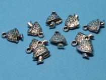 Pilz, Fliegenpilz, ca. 16 x 12 mm, 10 Stück