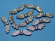 Flügel, Schmetterlingsflügel, ca. 21 mm x 7 mm, 10 Stück