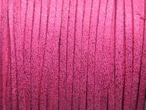 0,50 €/m Velour Wildleder Imitat Band Glitzer, ca. 3 x 1,5 mm, 3 Meter, Farbwahl