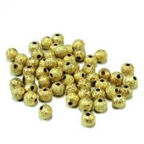 Stardust, goldfarben, ca. 6mm, 25 Stück
