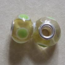 Modulperle Mai, ca. 13 x 9 mm